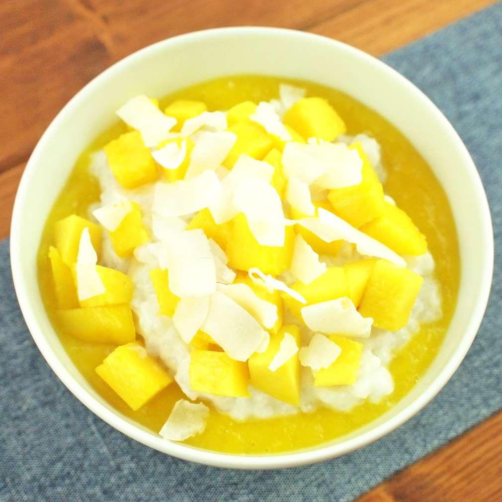 Zobrazit Kokosový puding s mangem receptů