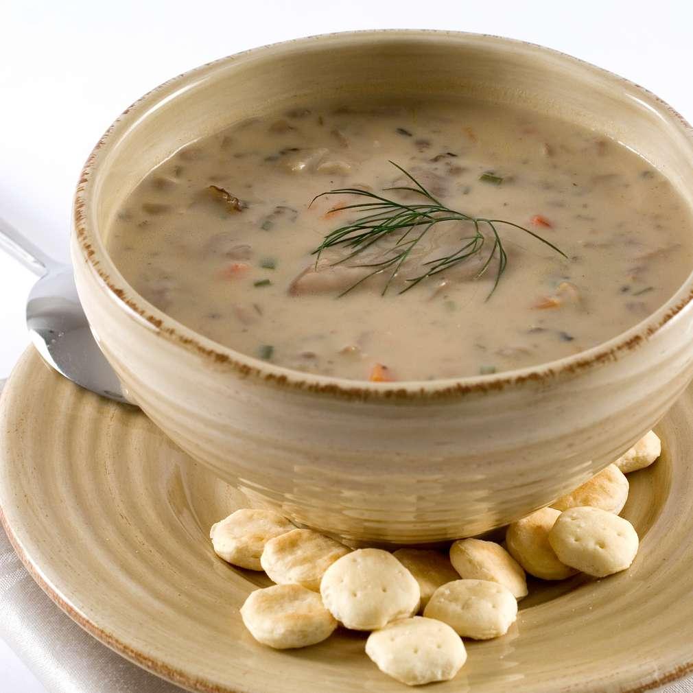 Imaginea rețetei Rețetă: Supă cremă de ciuperci