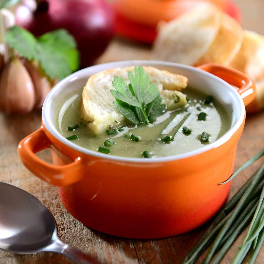 Imaginea rețetei Supă cremă cu mazăre și spanac