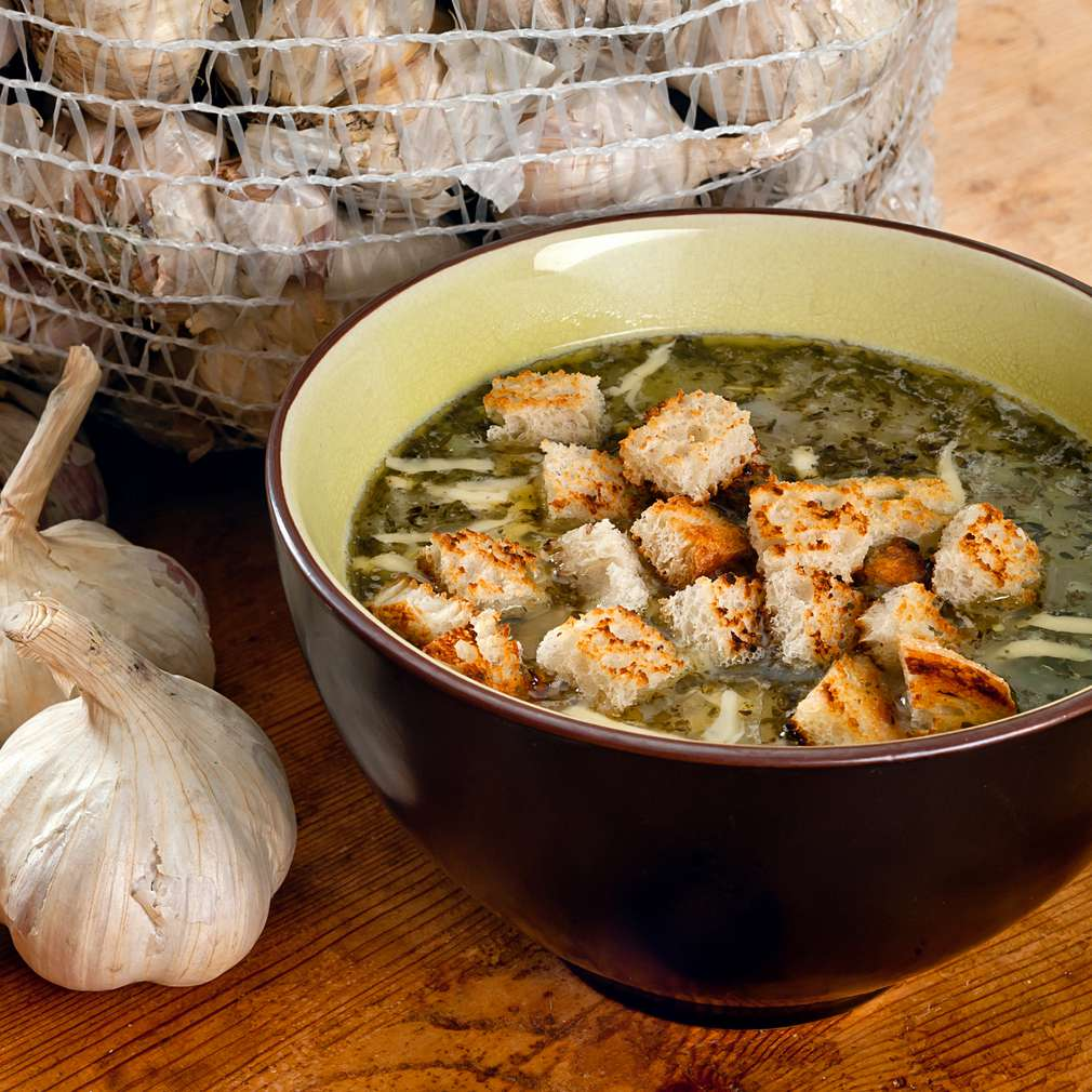 Imaginea rețetei Supă de usturoi