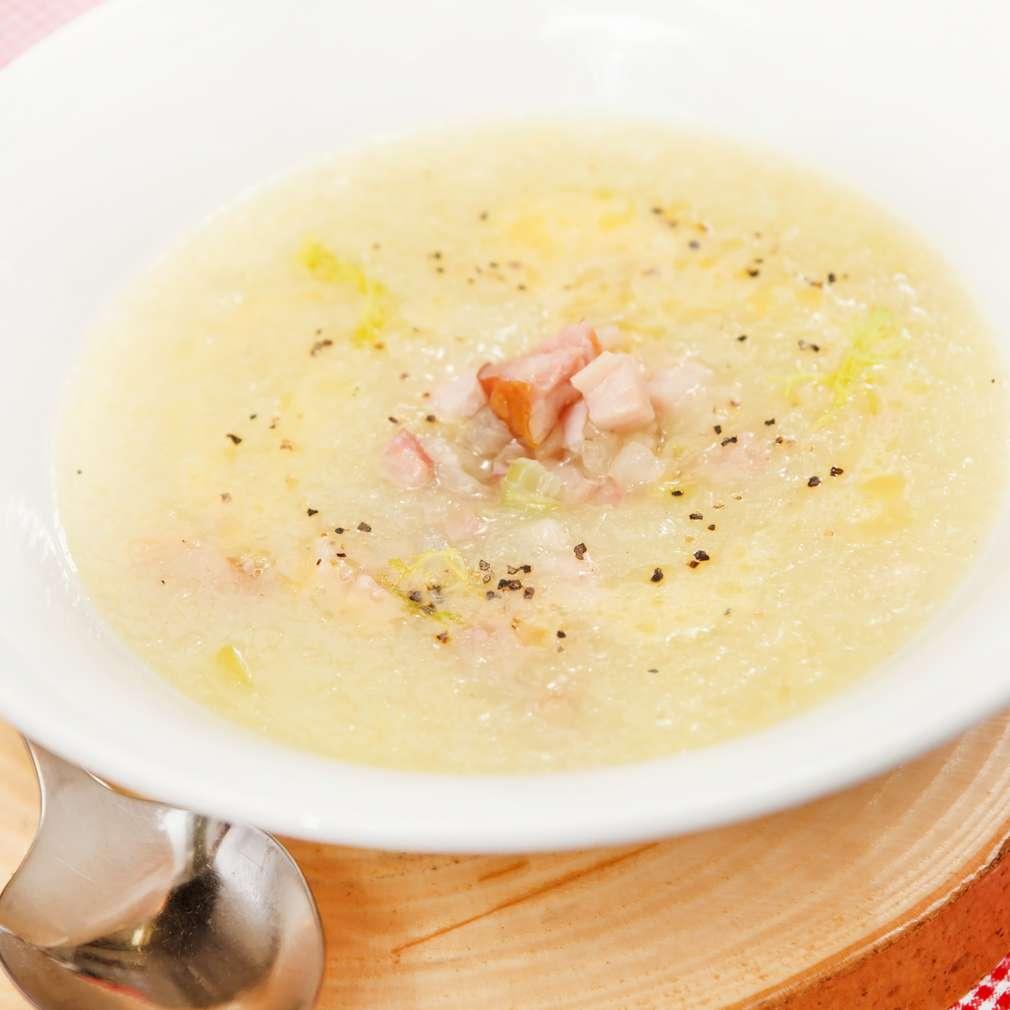 Imaginea rețetei Supă cremă de țelină cu bacon