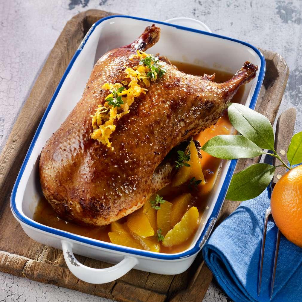 Abbildung des Rezepts Ente à l'Orange