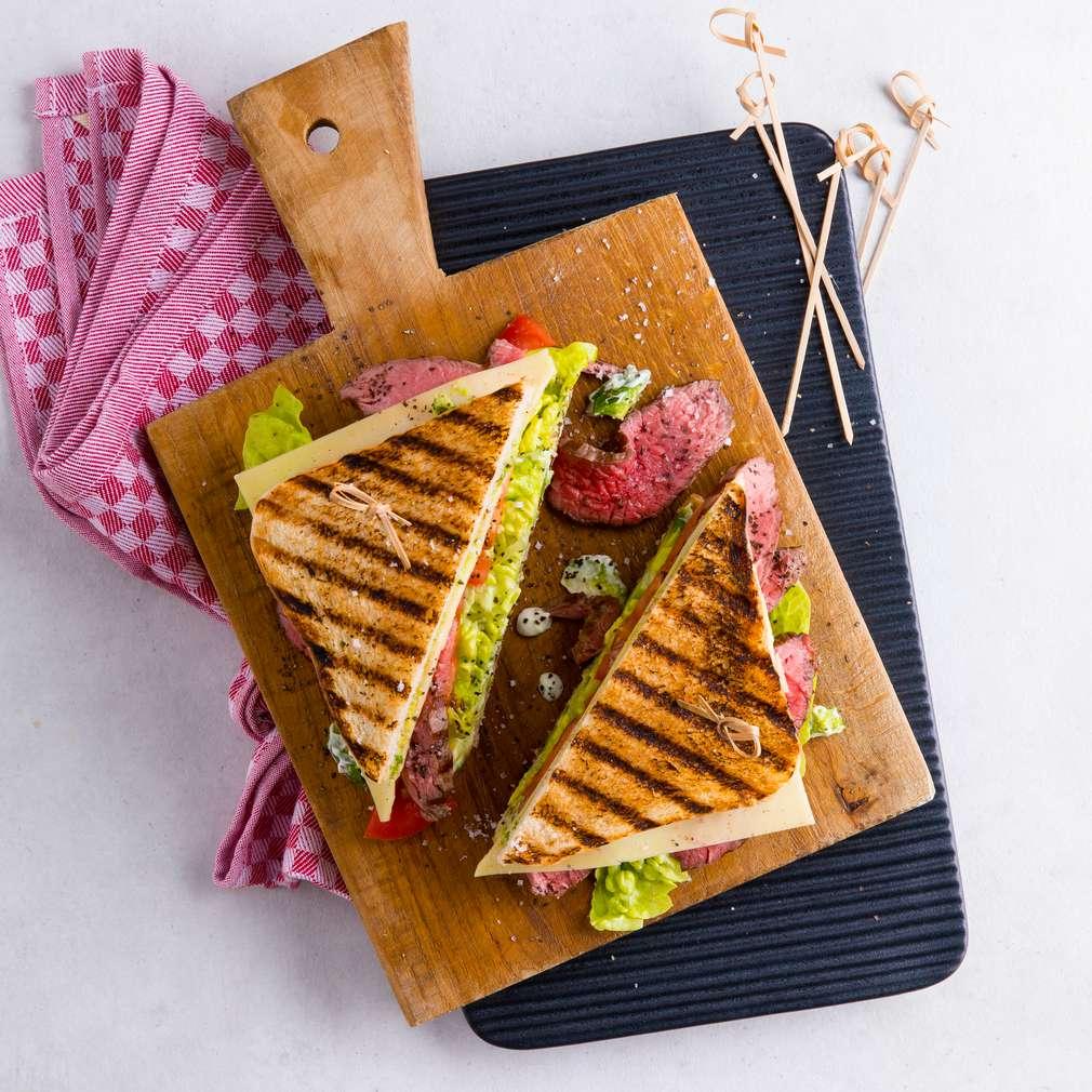 Fotografija recepta BBQ sendvič s avokadom