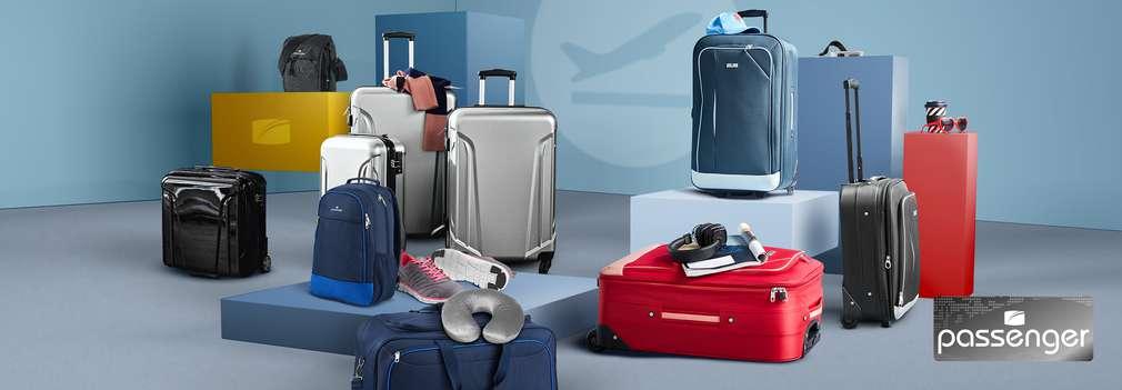 Vybavenie na cesty v Kauflande: kufre s tvrdým plášťom, príručná batožina, cestovná taška a textilné kufre