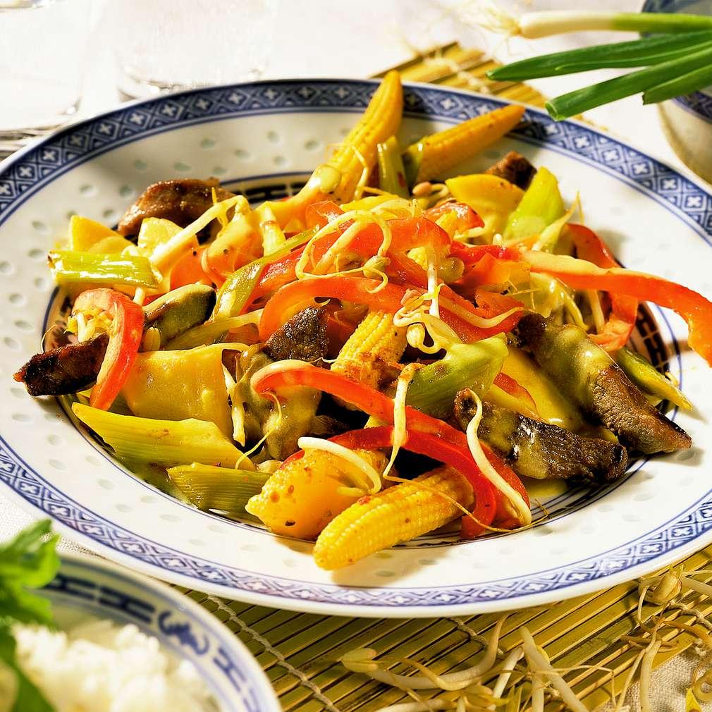 Zobrazit Křupavá kachna ve woku receptů