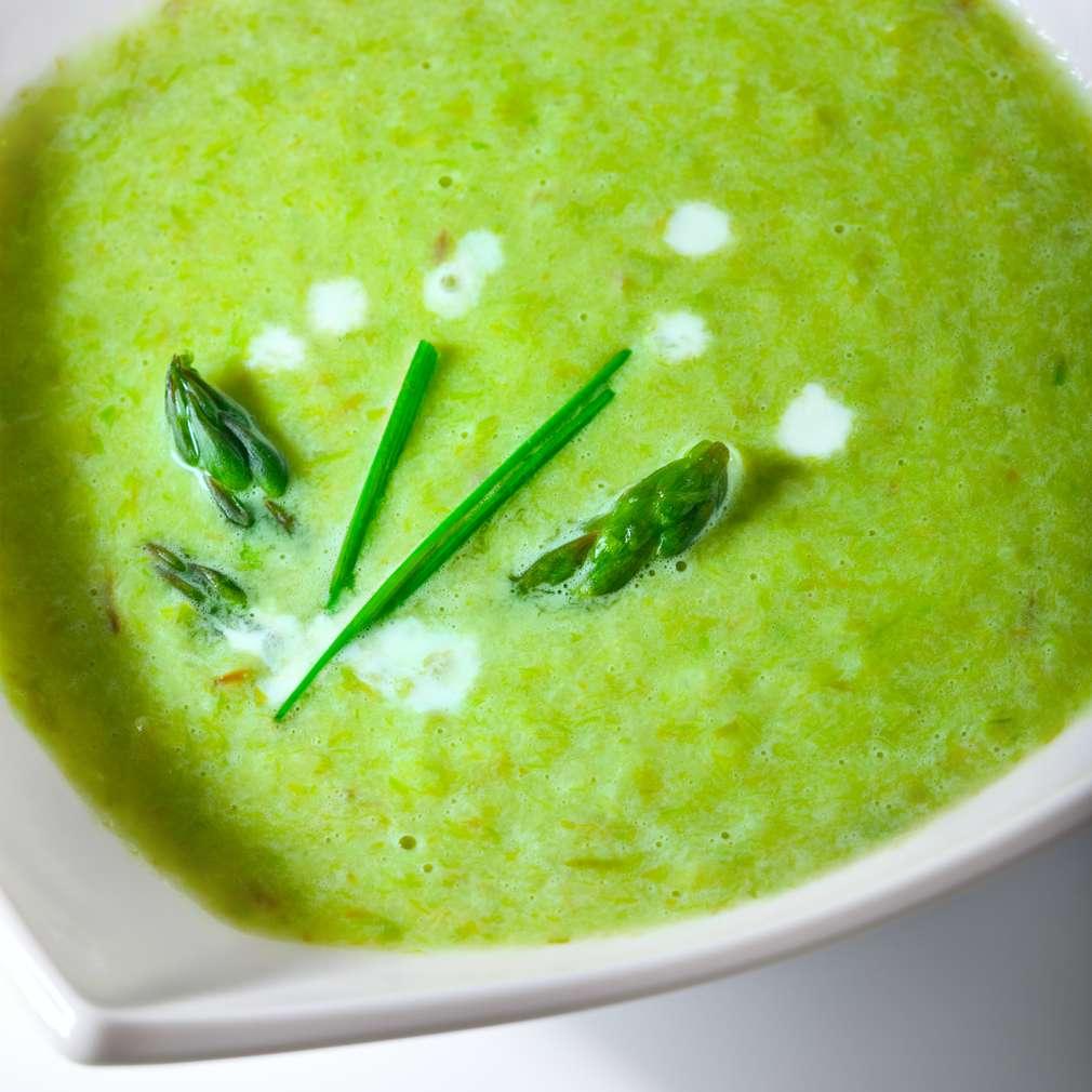 Imaginea rețetei Supă cremă de sparanghel