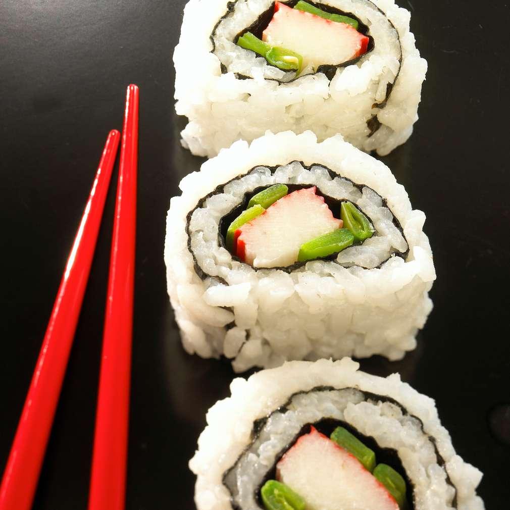 Abbildung des Rezepts Maki-Sushi mit Surimi
