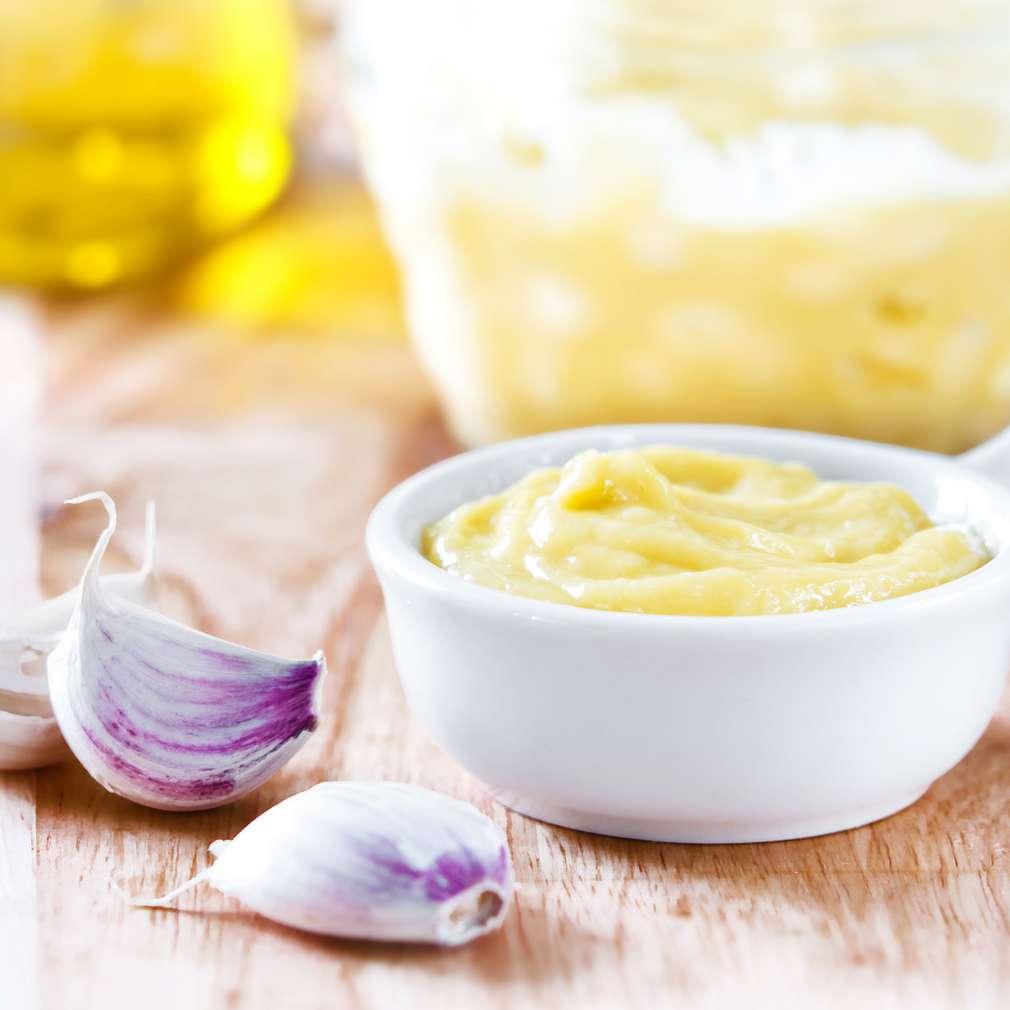 Imaginea rețetei Pâine cu sos aioli
