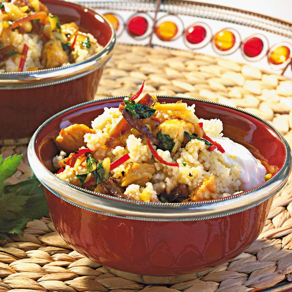 Abbildung des Rezepts Orientalische Couscous-Pfanne