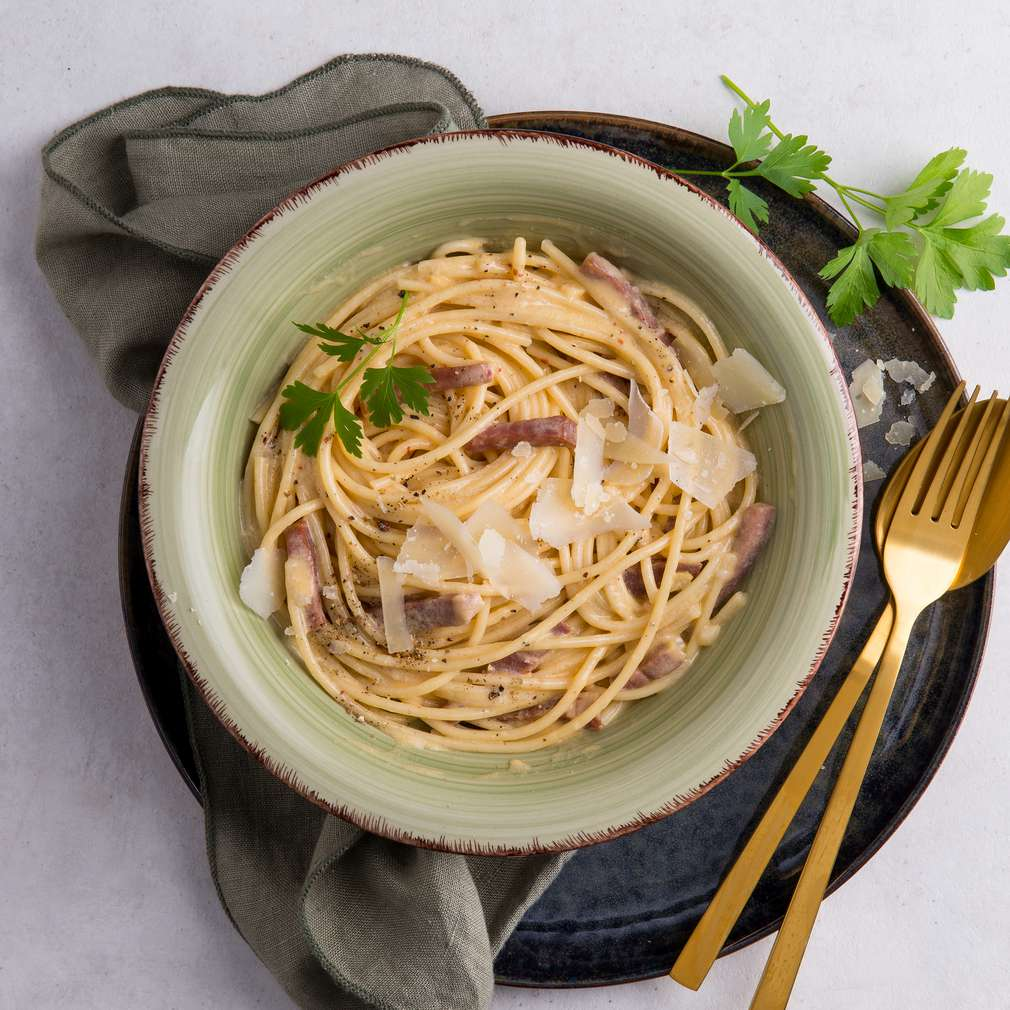 Zobrazenie receptu Špagety Carbonara