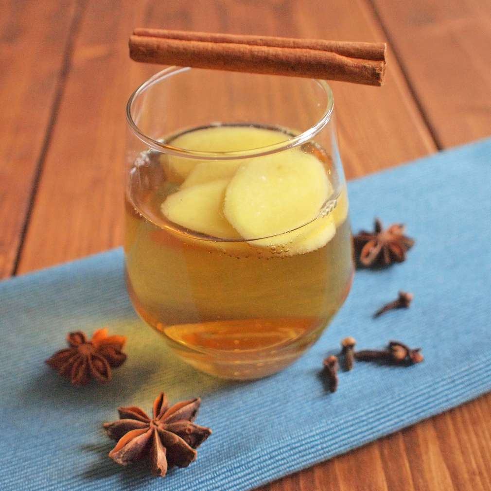 Zobrazit Svařený cider se zázvorem receptů