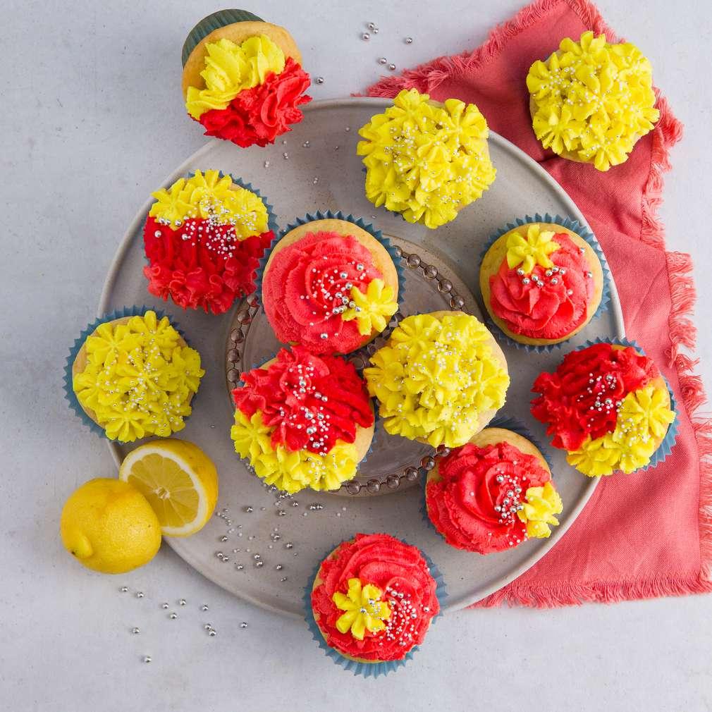 Abbildung des Rezepts Cupcakes mit Vanillefrosting