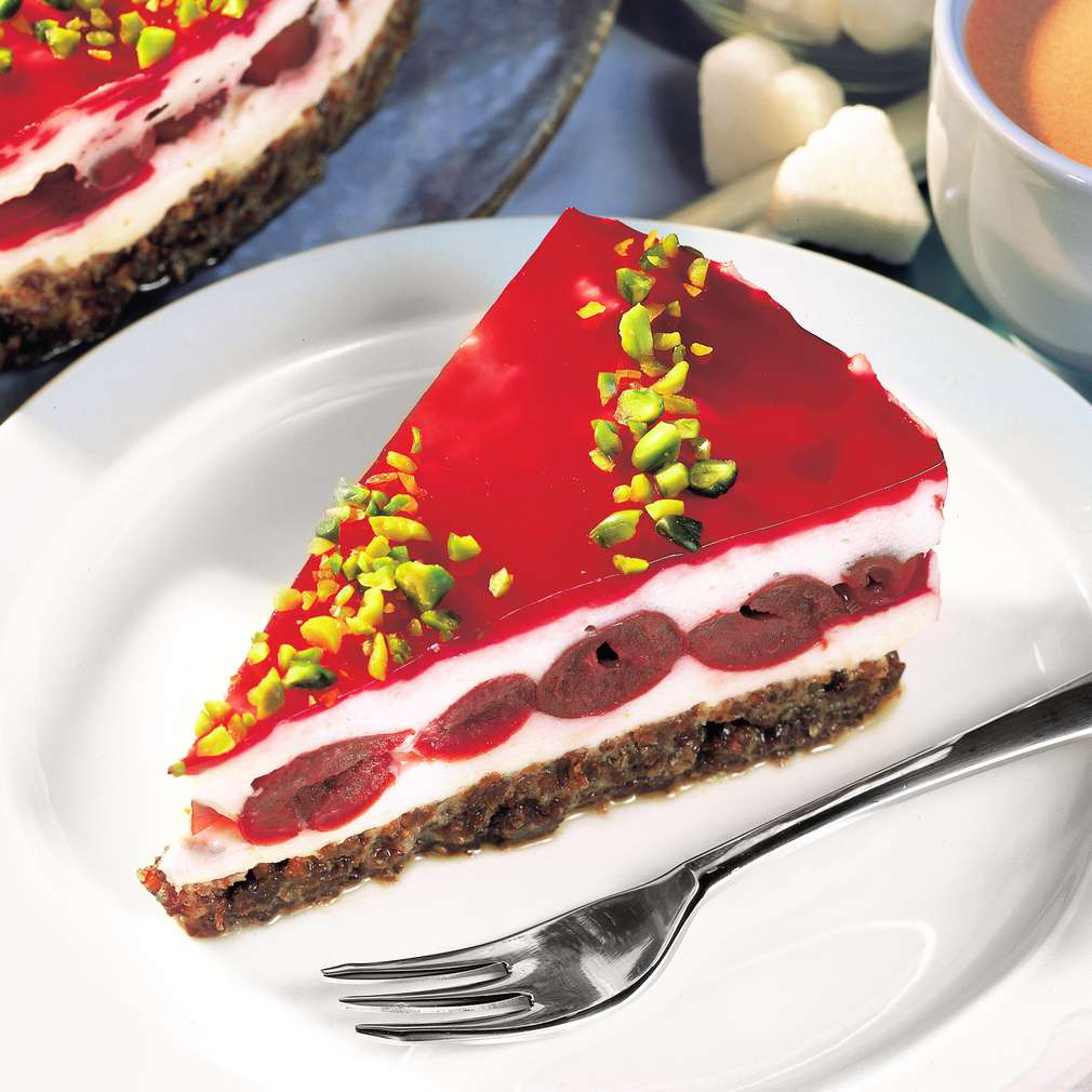 Abbildung des Rezepts Geeiste Sauerkirsch-Torte