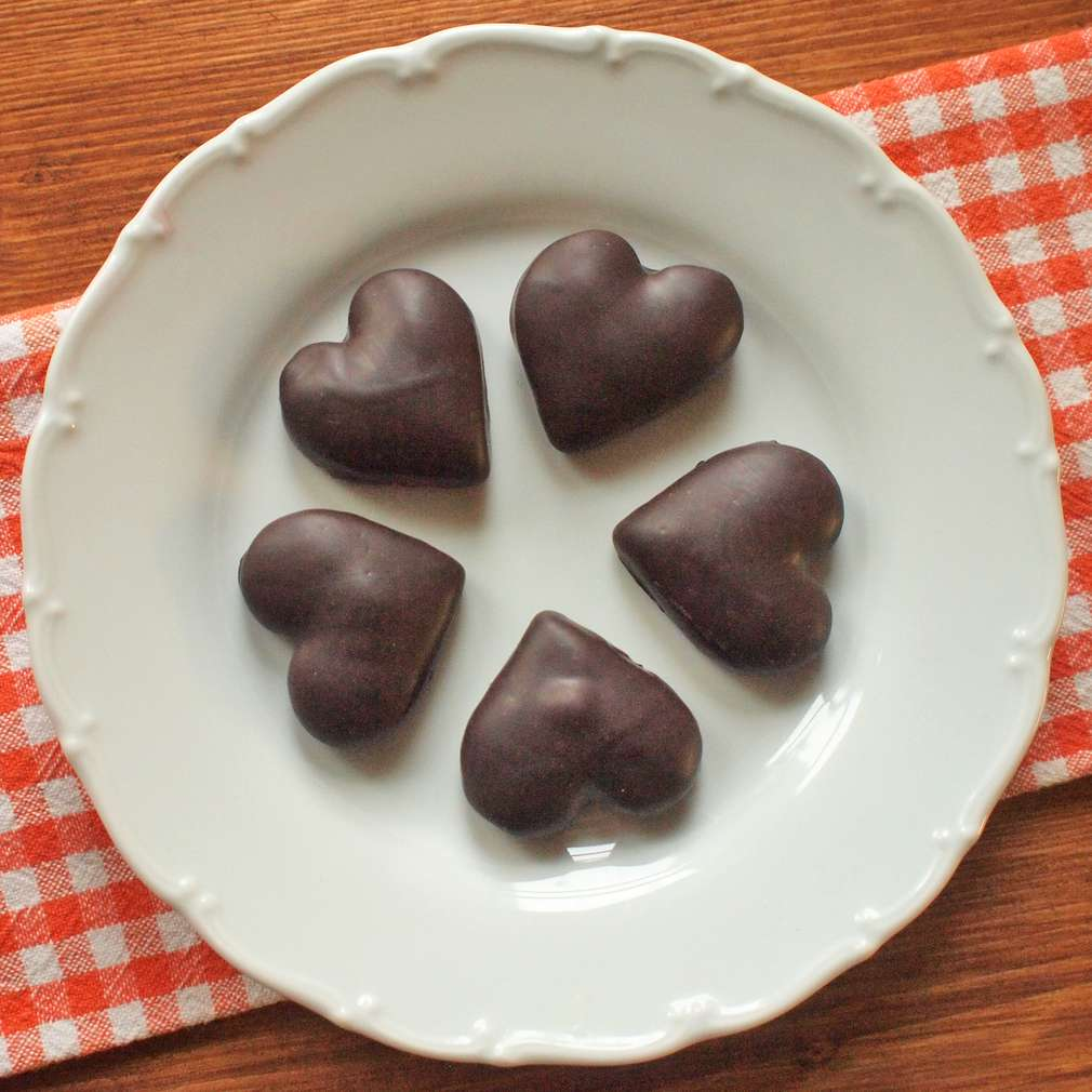 Perníčky s čokoládovou polevou
