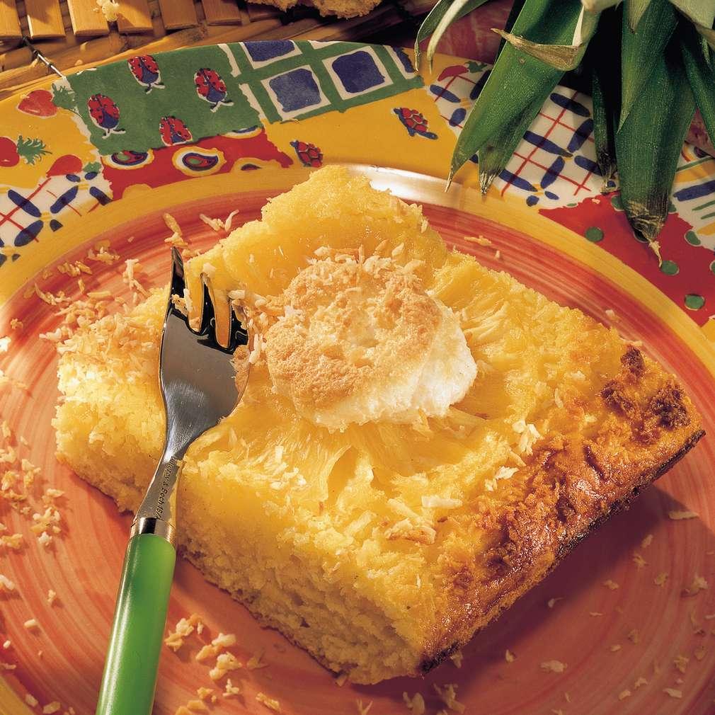 Rezept Fur Kokos Ananas Kuchen Kaufland