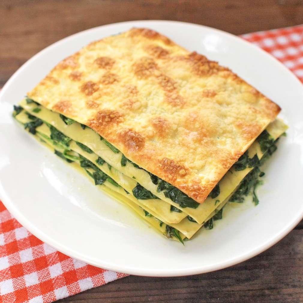 Zobrazit Špenátové lasagne receptů