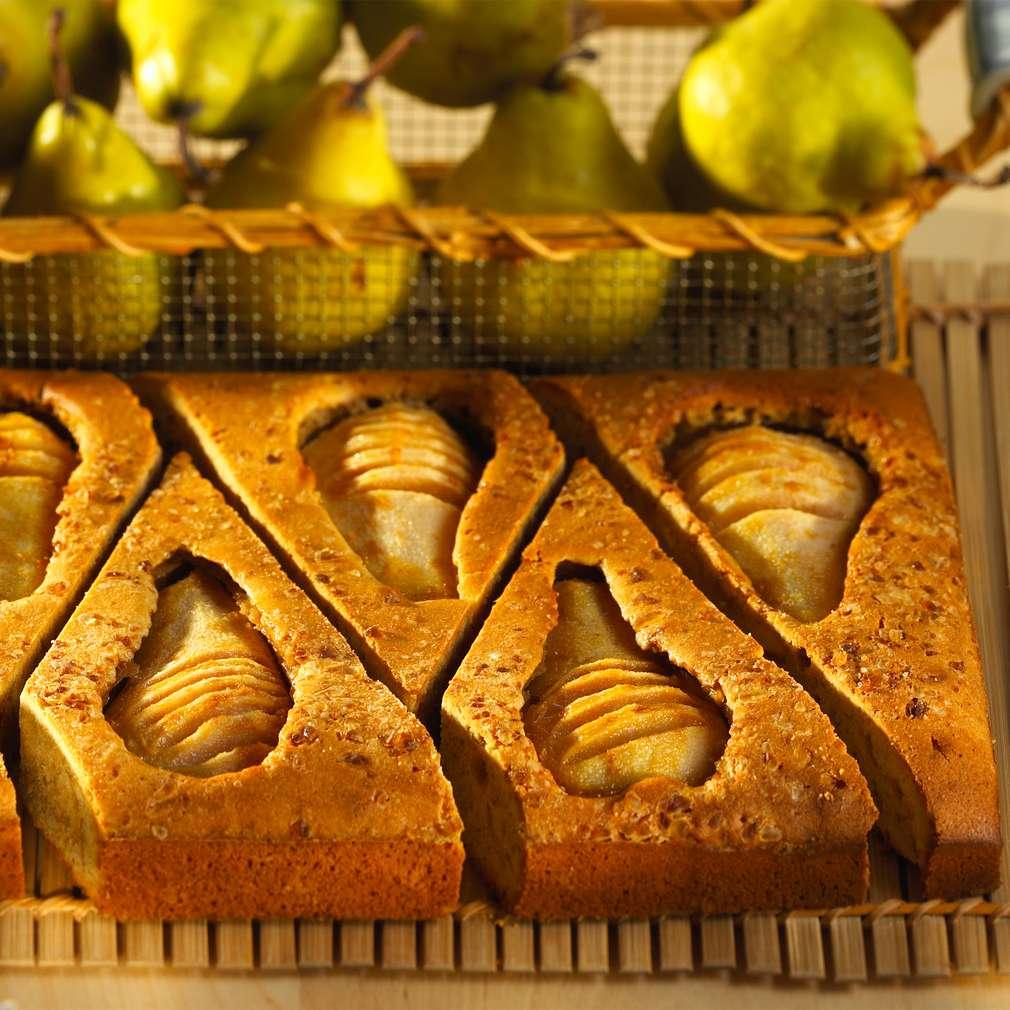 Abbildung des Rezepts Versunkener Birnenkuchen
