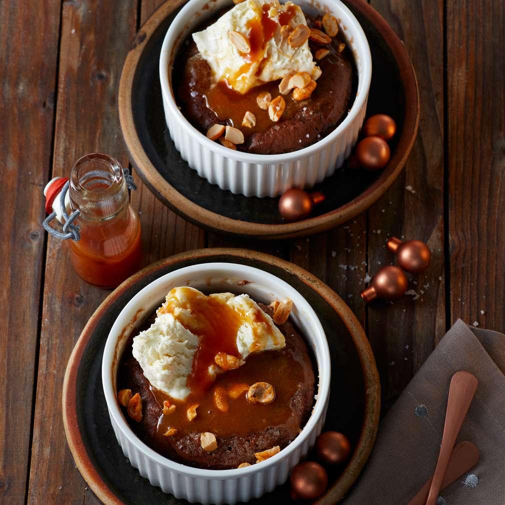 Abbildung des Rezepts Schoko-Erdnuss-Brownies