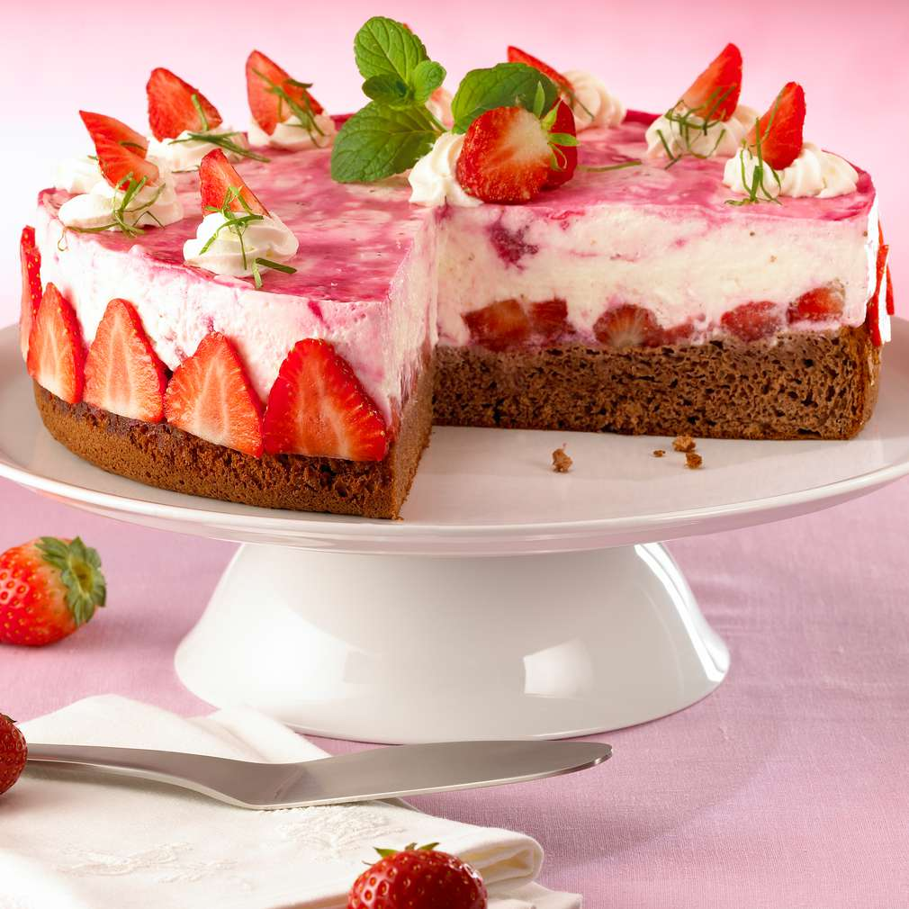 Abbildung des Rezepts Strawberry-Margarita-Torte