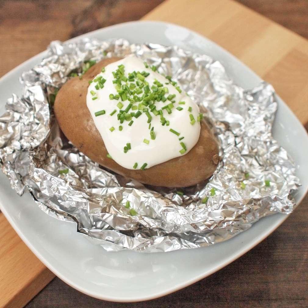 Zobrazit Horká brambora pečená ve slupce receptů