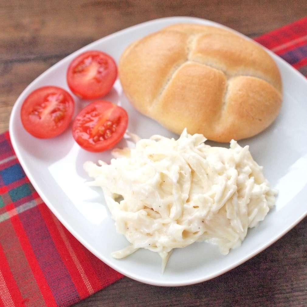 Zobrazit Česneková pomazánka se sýrem receptů