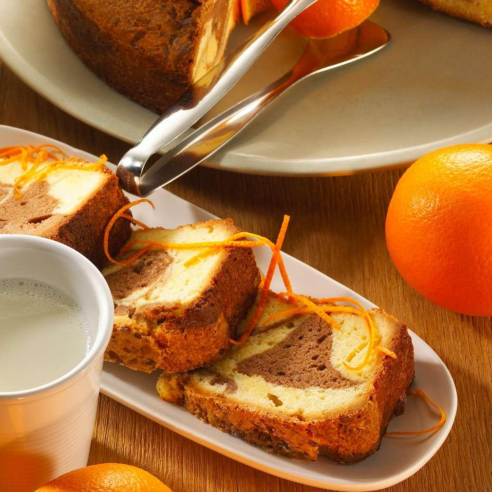Abbildung des Rezepts Orangen-Marmorkuchen