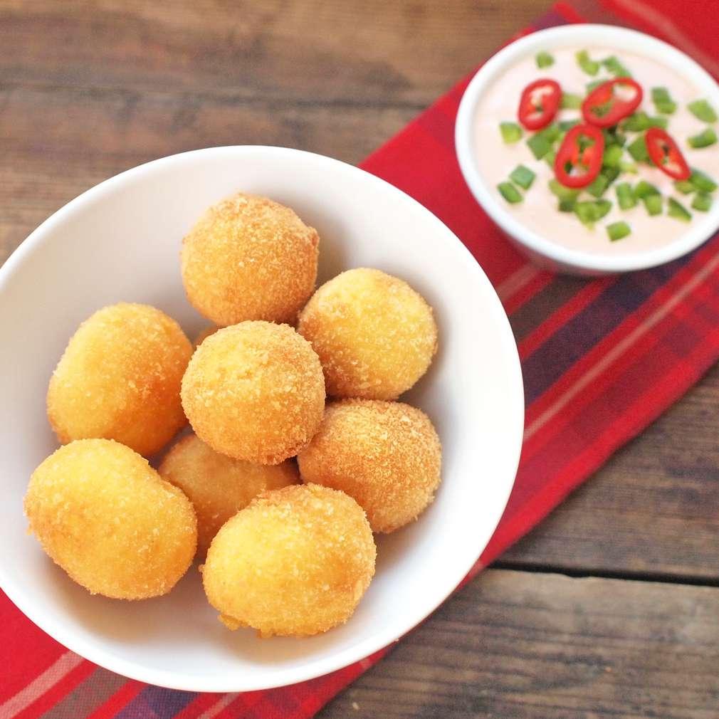 Zobrazit Fritované sýrové krokety receptů