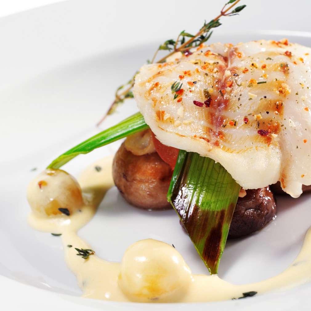 Imaginea rețetei Pește cu ciuperci și maioneză