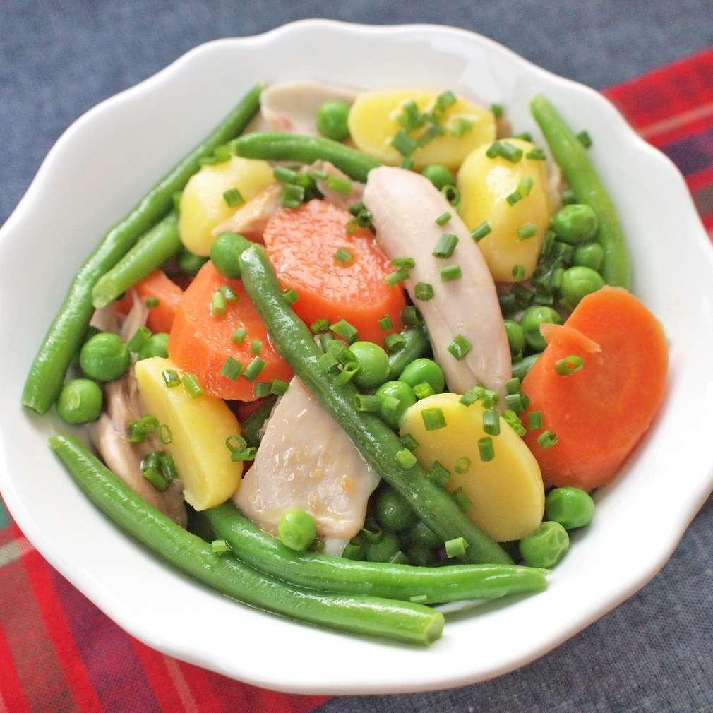 Zobrazit Obírané kuře se zeleninou receptů