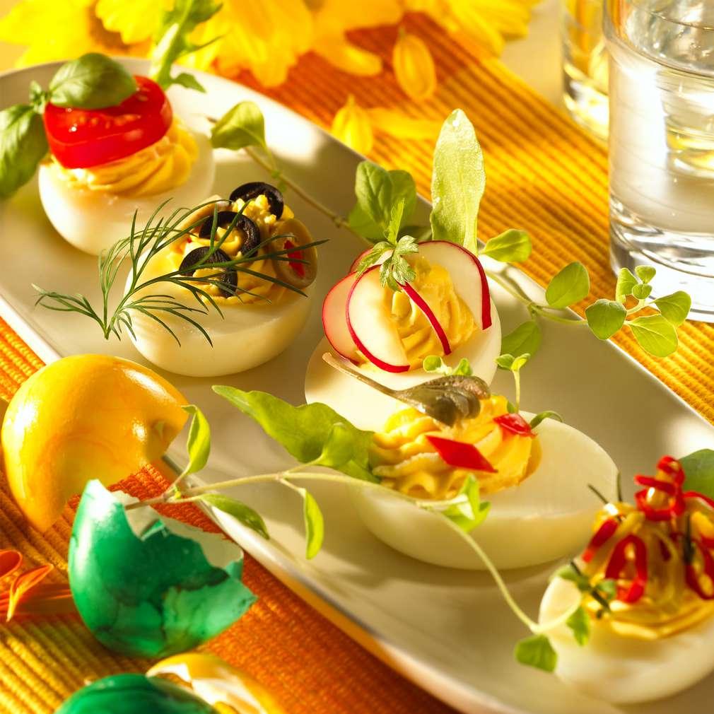 Abbildung des Rezepts Gefüllte Eier