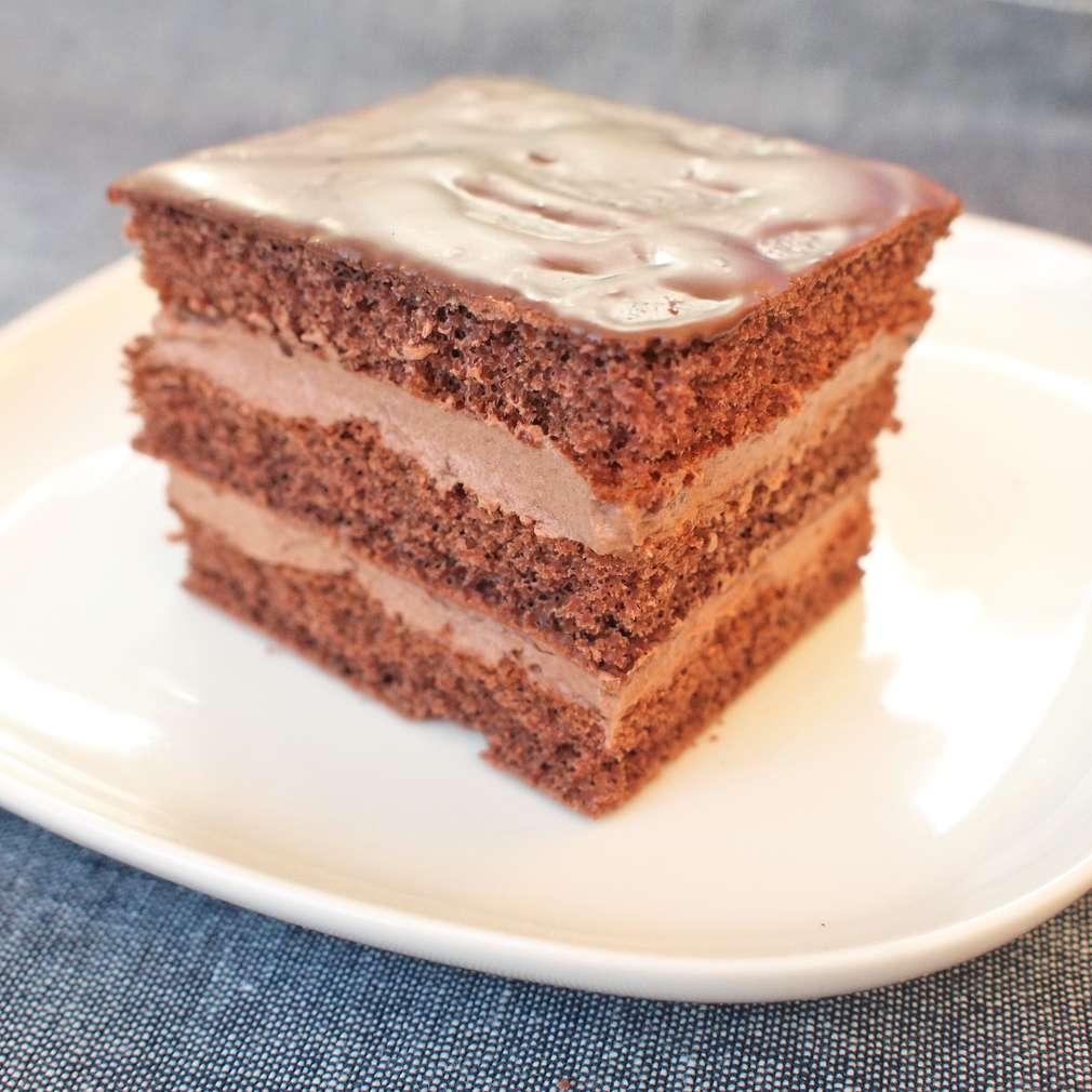 Čokoládový dort s máslovým krémem
