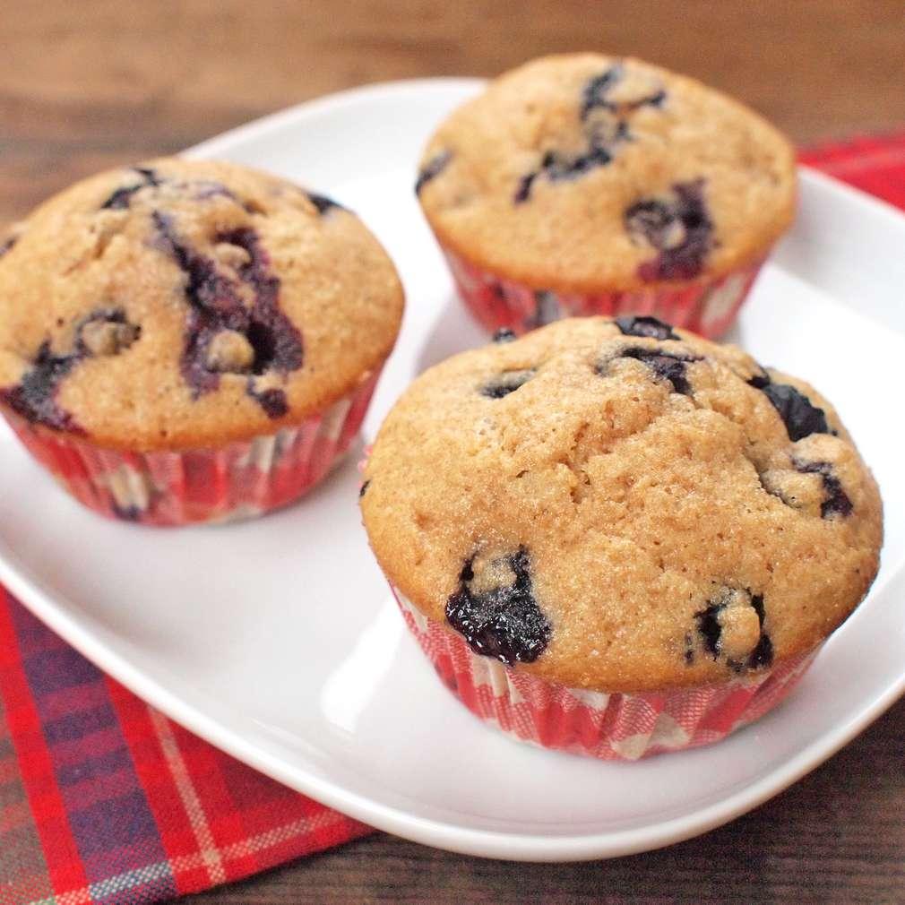 Zobrazit Jogurtové muffiny s borůvkami receptů