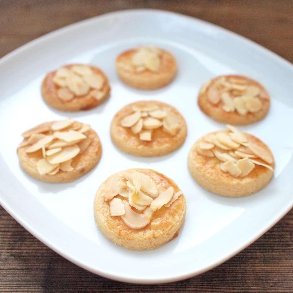 Zobrazit Křehké mandlové sušenky receptů