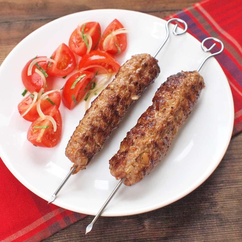 Zobrazit Chilli kebab špízy receptů