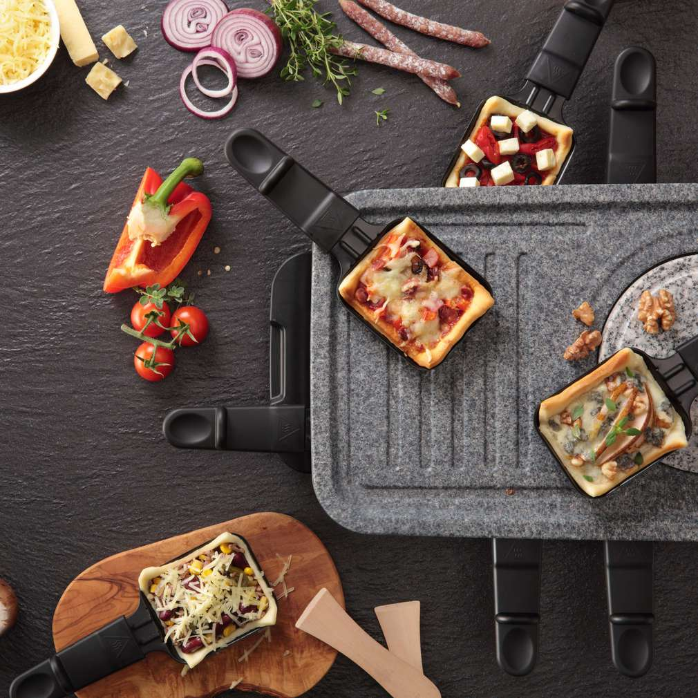 Abbildung des Rezepts Raclette meets Pizza
