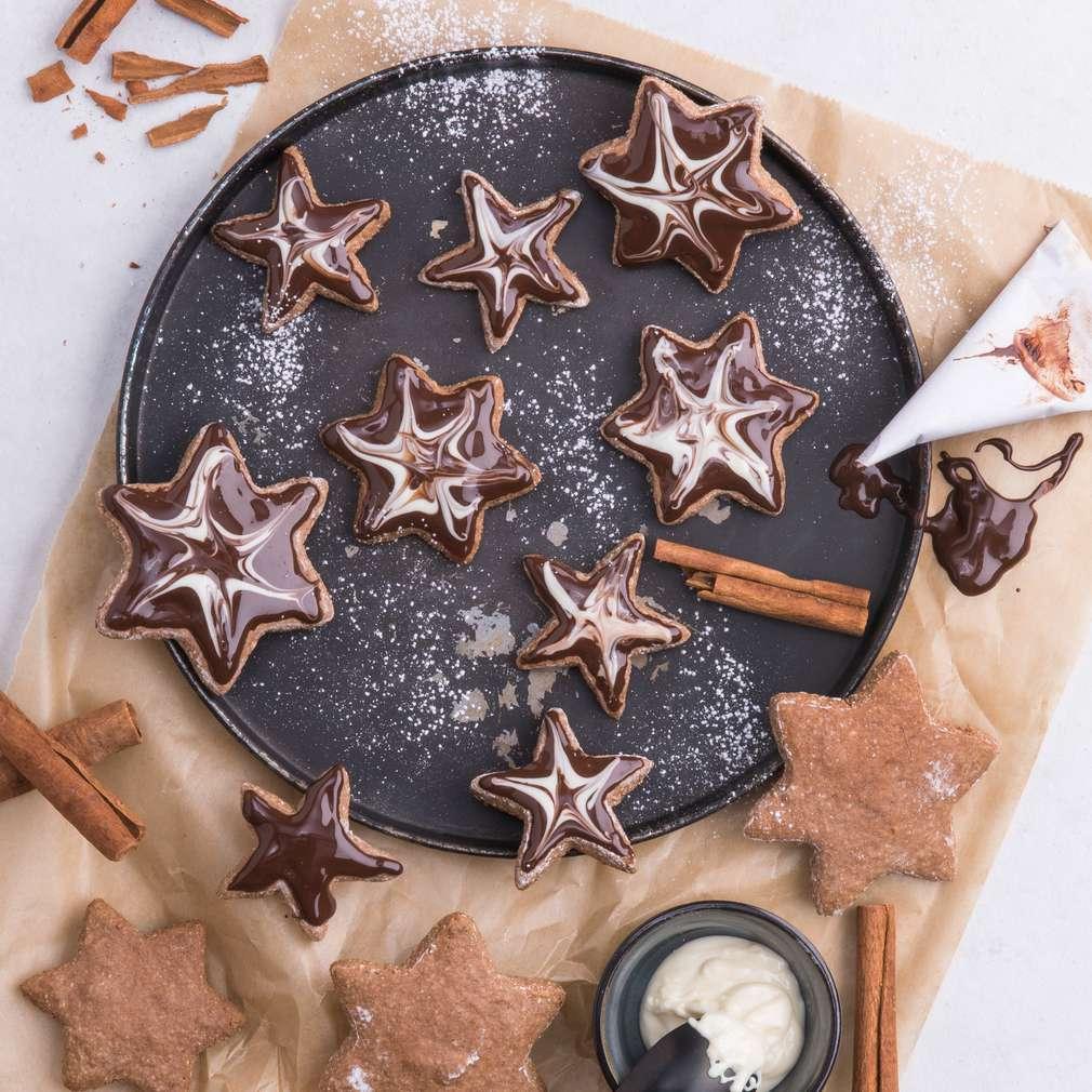 Abbildung des Rezepts Zimt-Kakao-Sterne