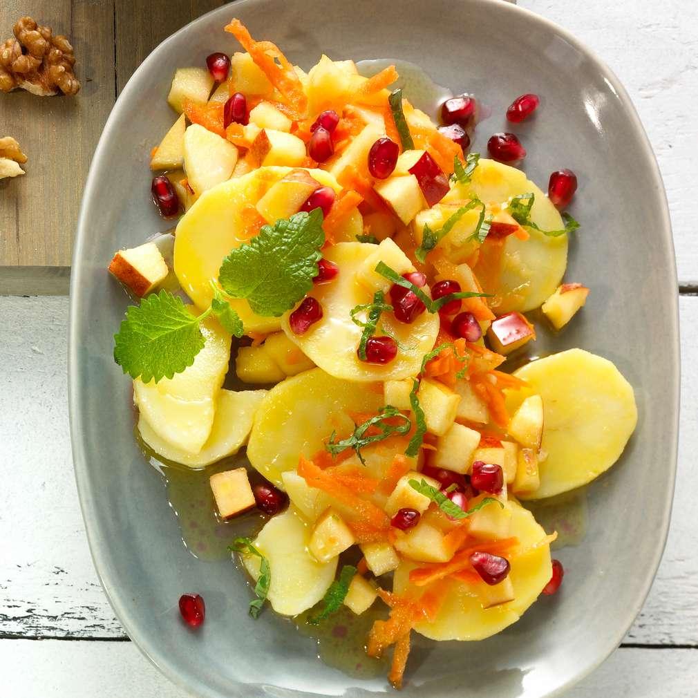 Abbildung des Rezepts Granatapfel-Kartoffel-Salat