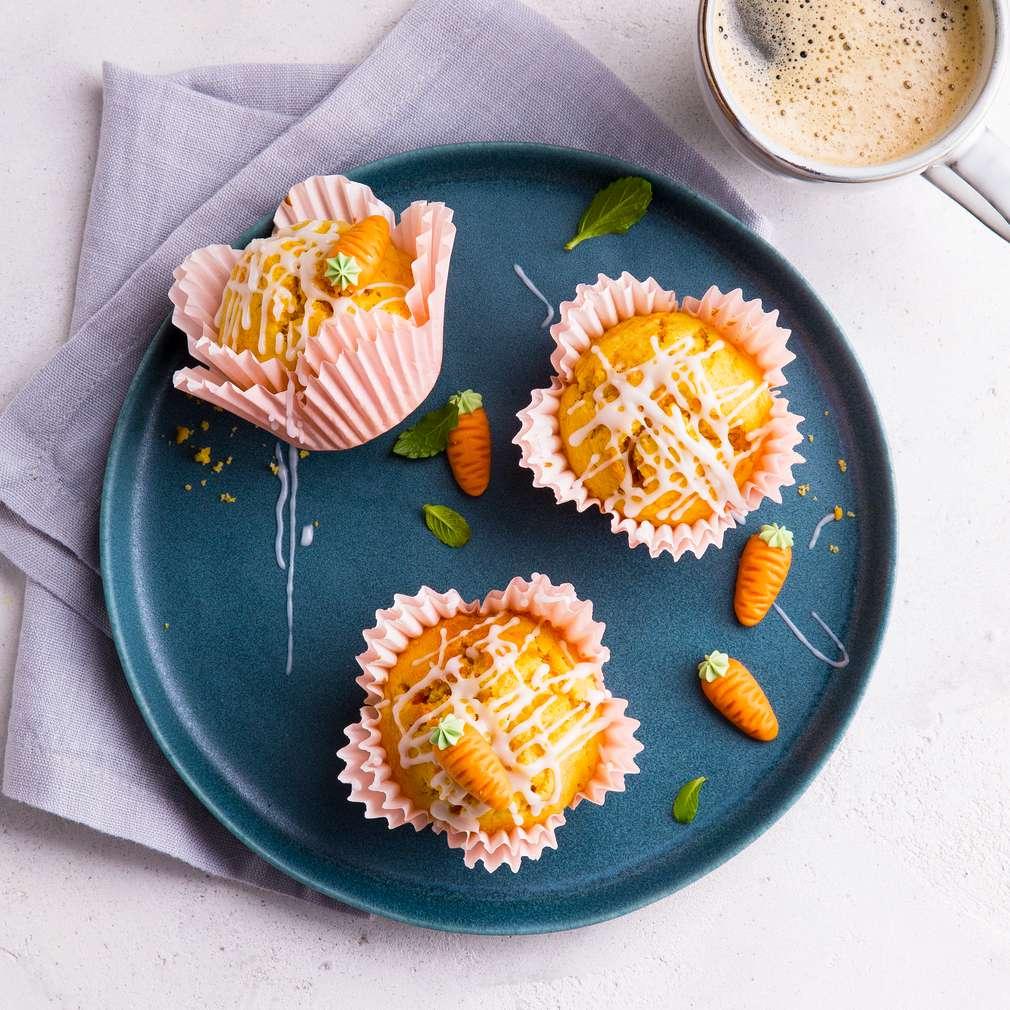 Zobrazit Mrkvové muffiny receptů