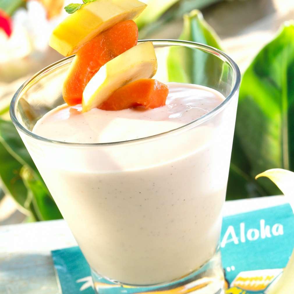 Abbildung des Rezepts Papaya-Bananen-Smoothie