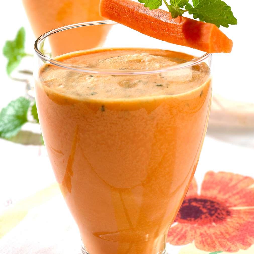 Изобразяване на рецептата Смути от моркови