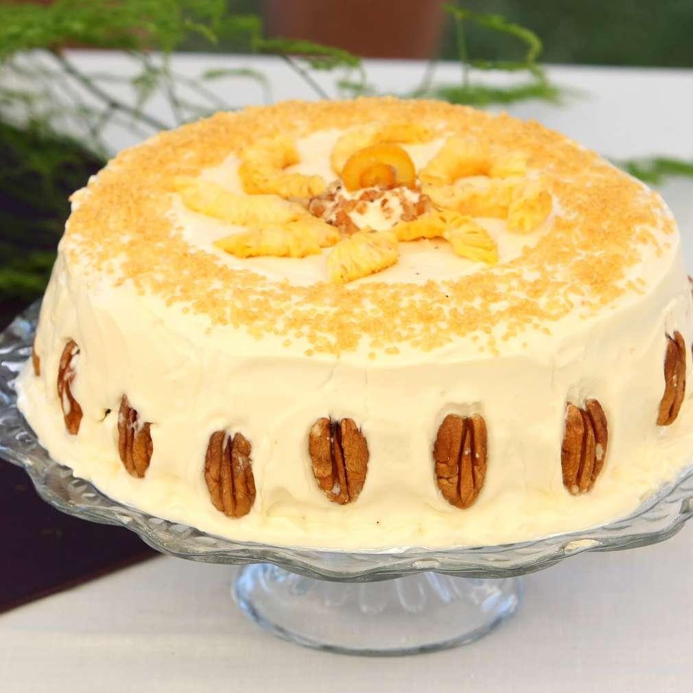 Imaginea rețetei Tort mousse de portocale