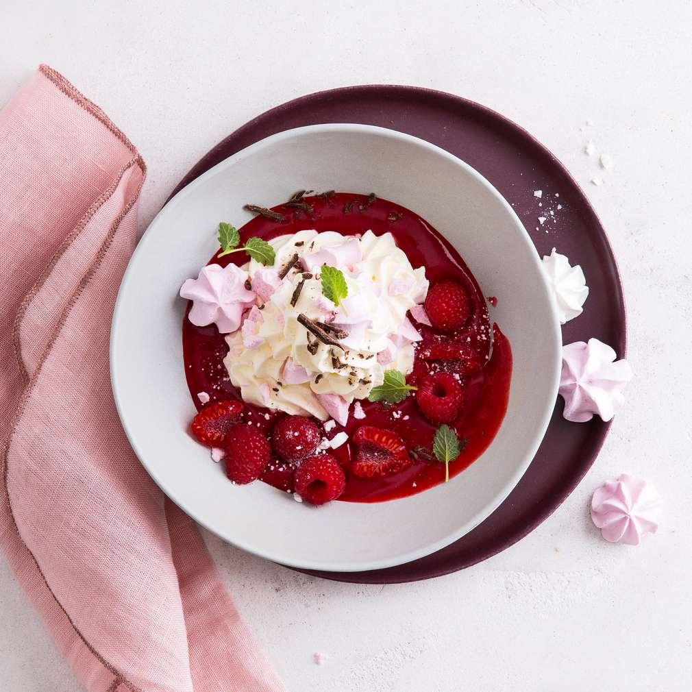 """Abbildung des Rezepts Dessert """"Wolke 7"""
