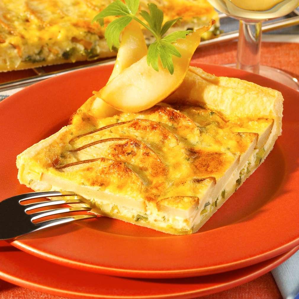 Abbildung des Rezepts Tarte mit Birnen und Brie