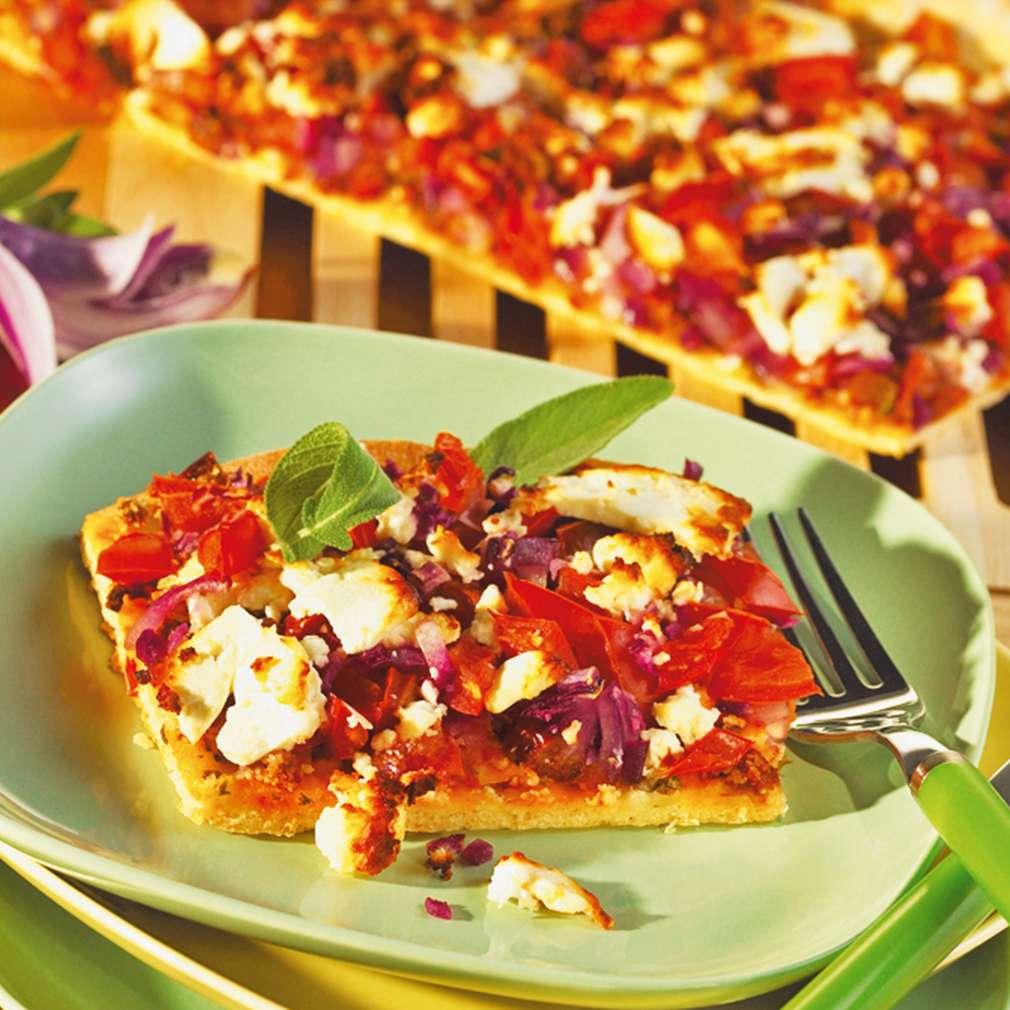 Abbildung des Rezepts Pikanter Tomatenkuchen
