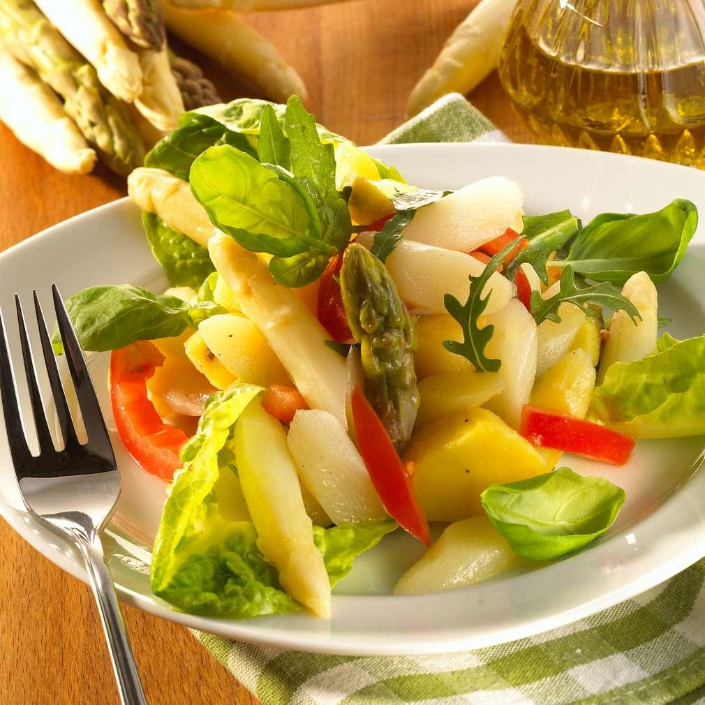 Zobrazit Chřestový salát s bramborem receptů