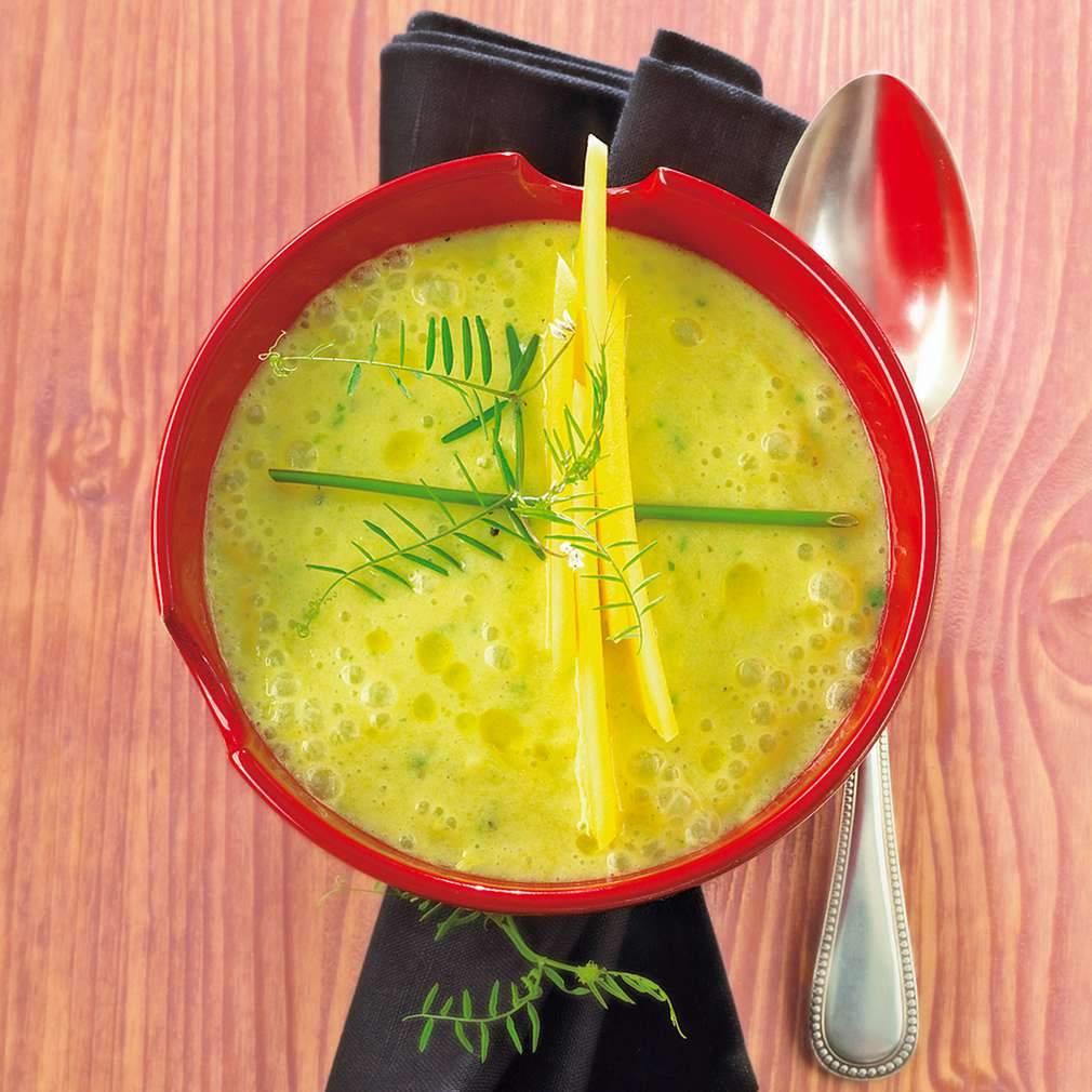 Abbildung des Rezepts Mango-Zucchini-Suppe