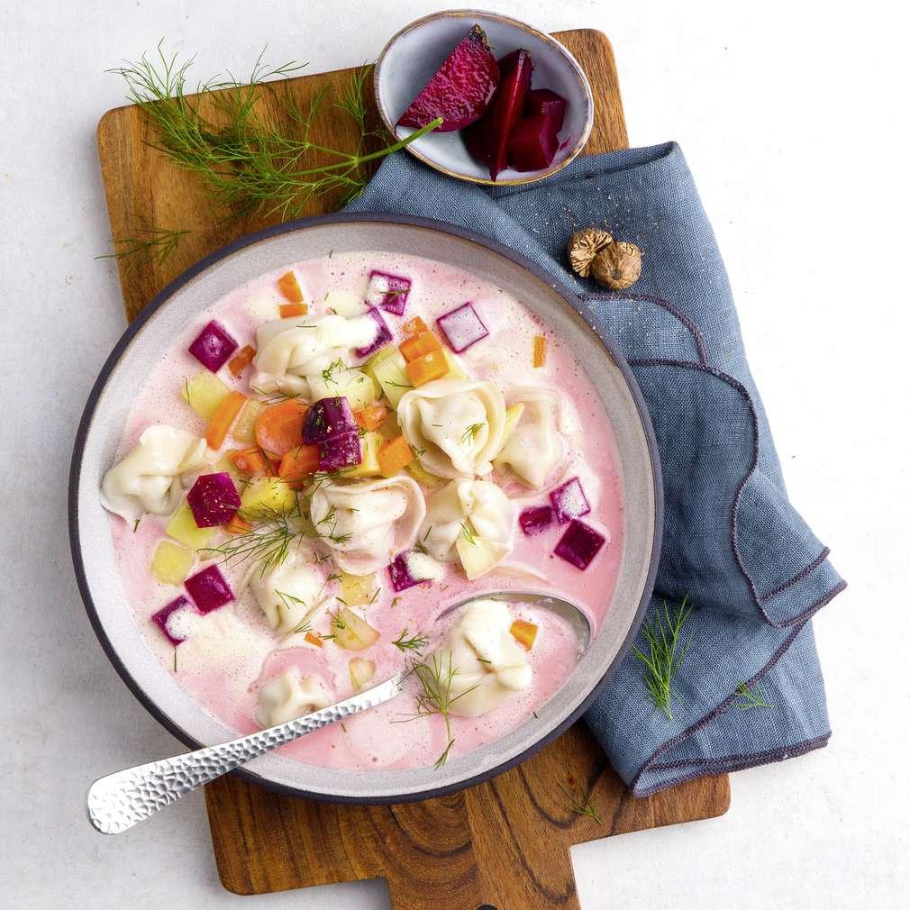 Abbildung des Rezepts Russische Pelmeni-Suppe
