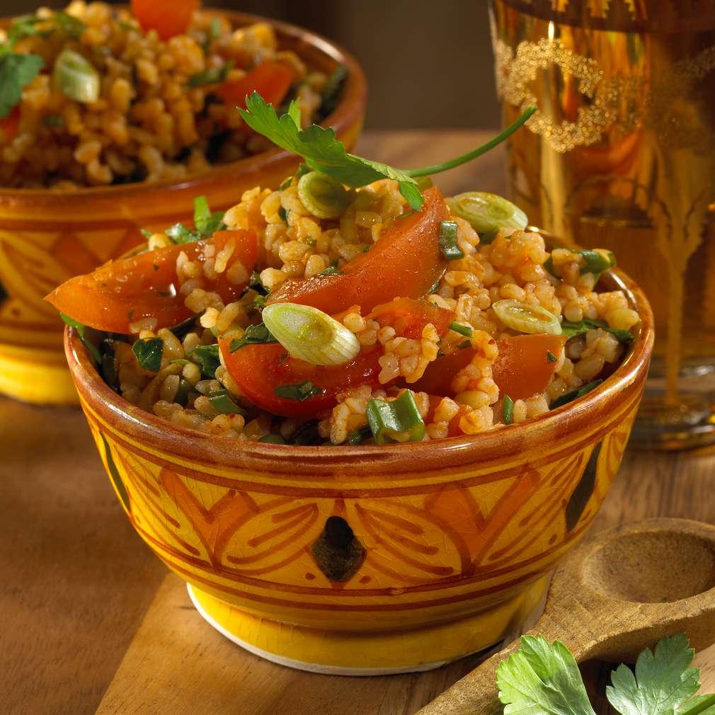 Zobrazit Salát tabbouleh s mátou receptů