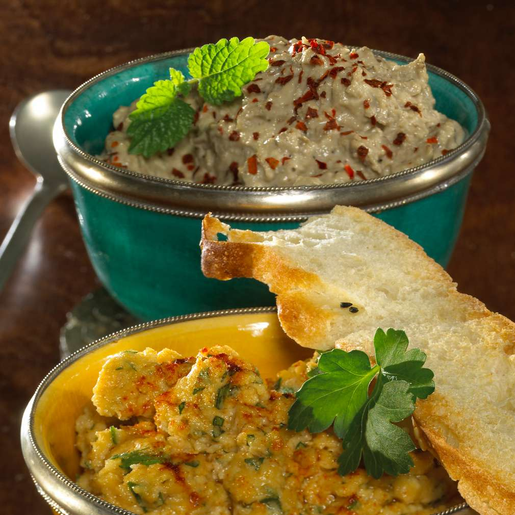 Abbildung des Rezepts Kichererbsenpüree (Hummus)