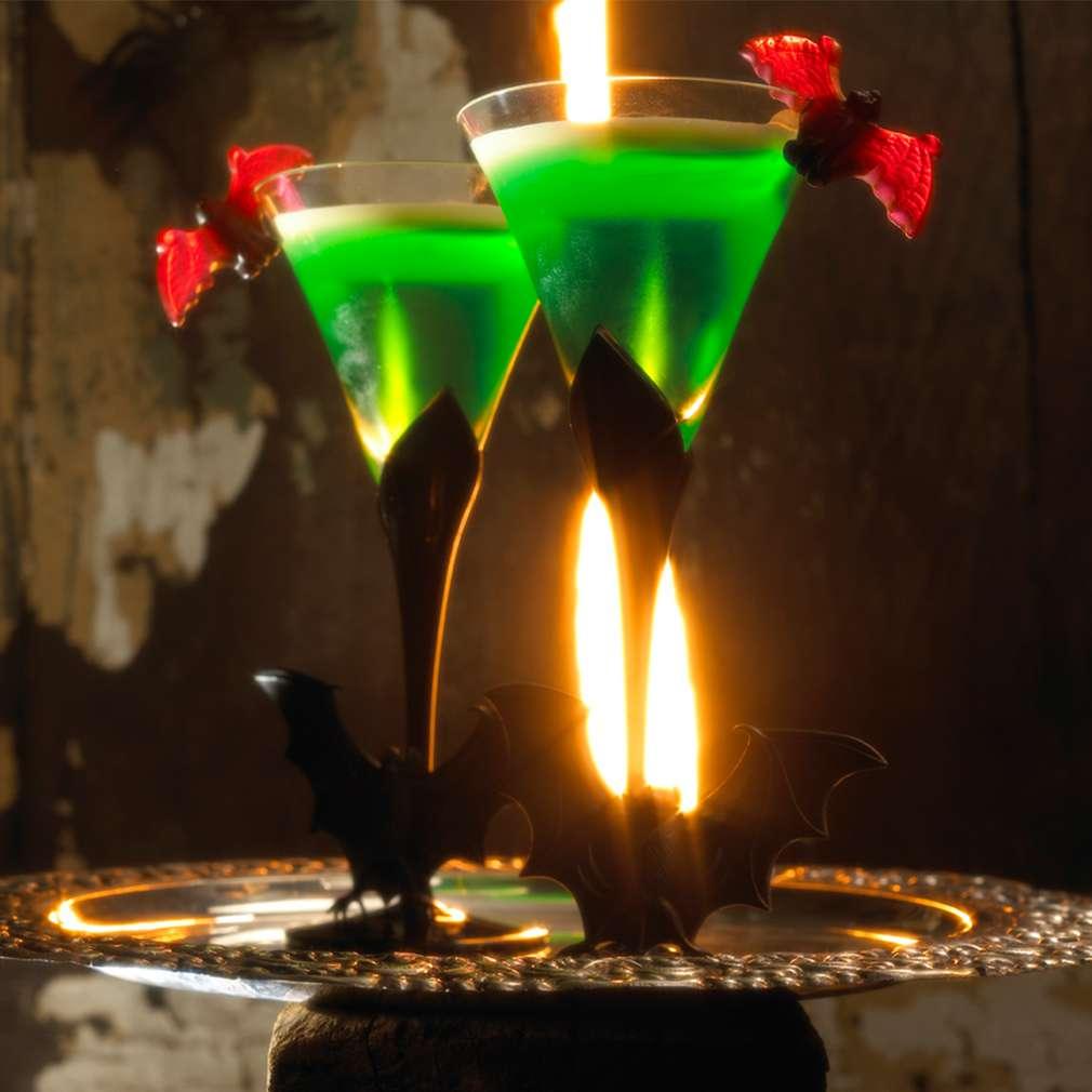 Abbildung des Rezepts Wackelpudding mit Vanillesoße